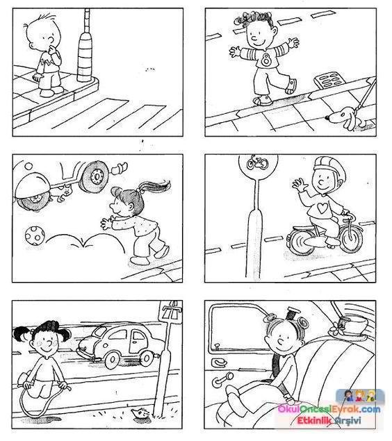 Trafık Haftası 15 Preschool Activity
