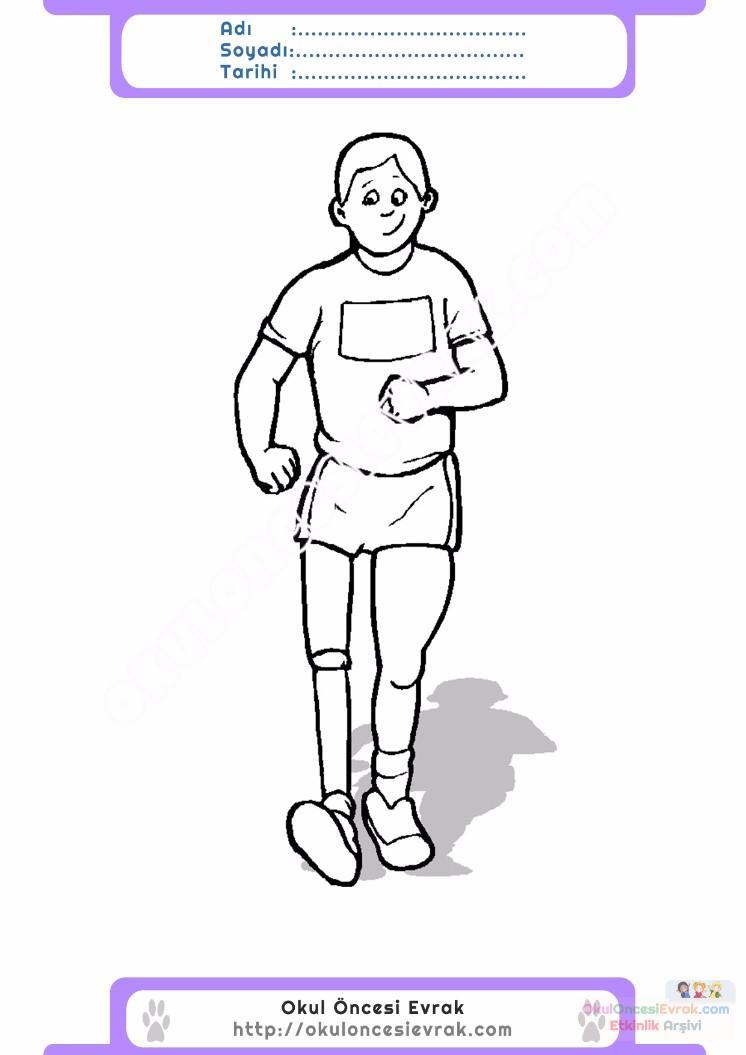 Engelliler Haftası Belirli Gün Ve Haftalar Boyama Sayfası 1