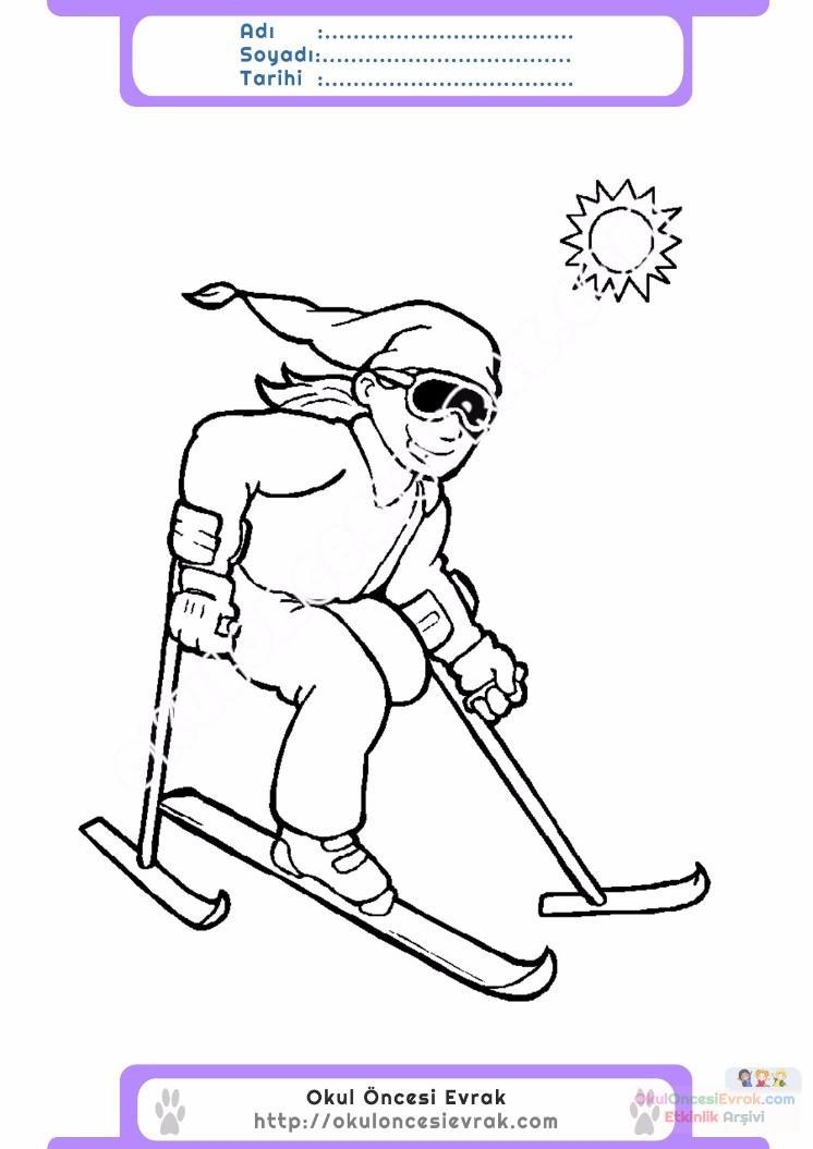 Engelliler Haftası Belirli Gün Ve Haftalar Boyama Sayfası 11