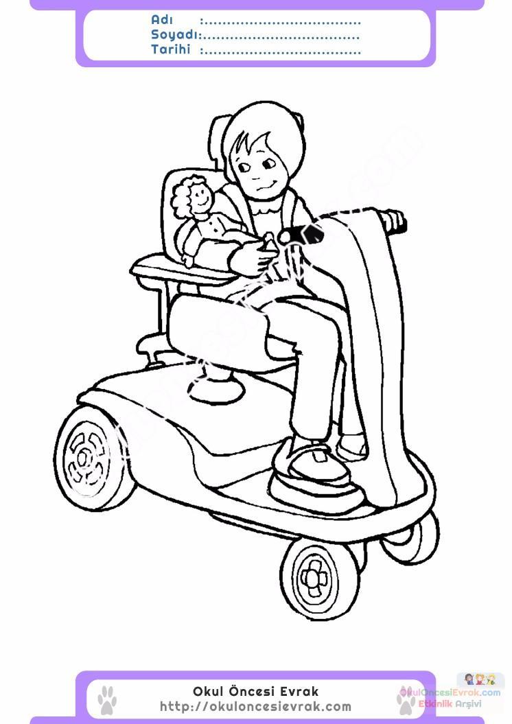 Engelliler Haftası Belirli Gün Ve Haftalar Boyama Sayfası 12