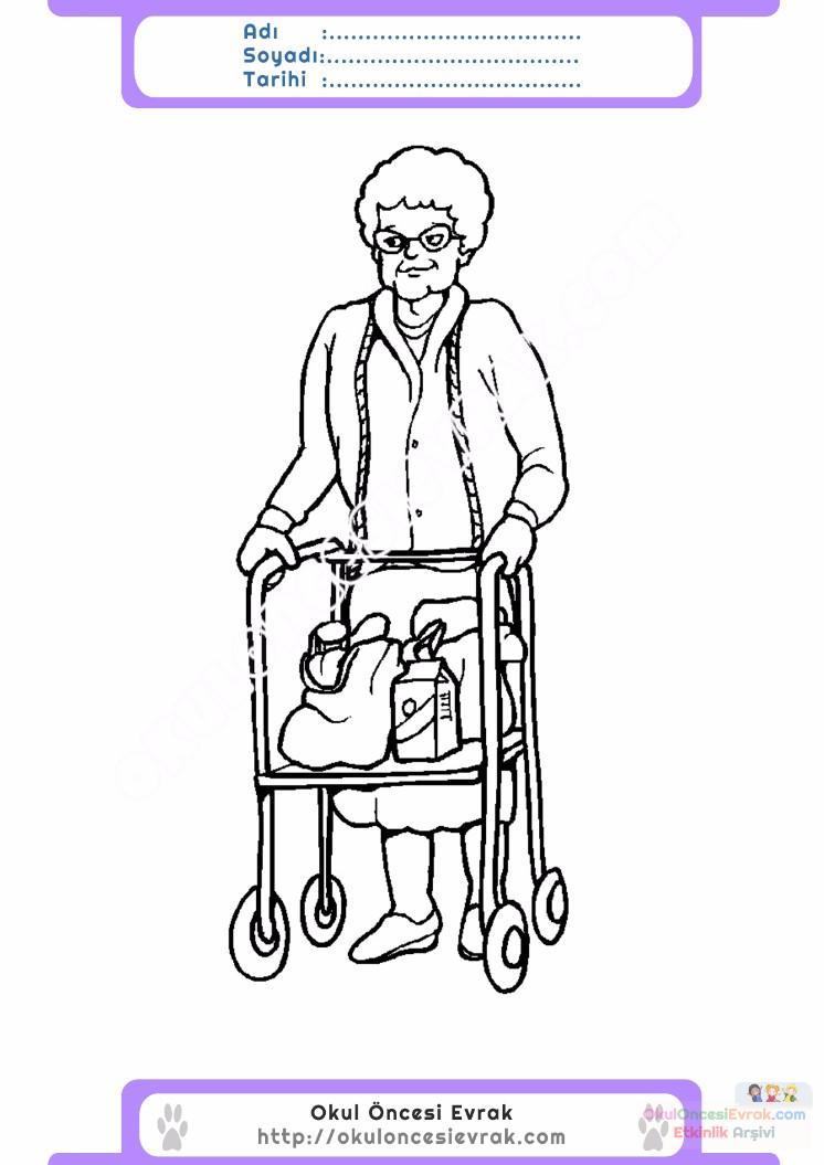 Engelliler Haftası Belirli Gün Ve Haftalar Boyama Sayfası 2