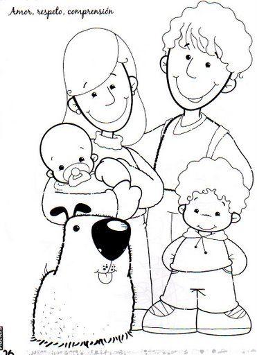 Aile Boyama 3 Preschool Activity