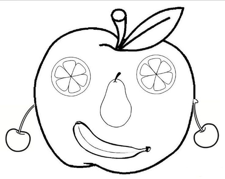 Okul öncesinde Sebze Ve Meyve Sanat Etkinliği 55 Preschool Activity