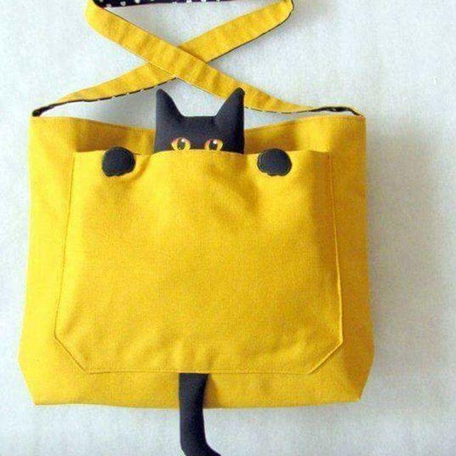 Желтая сумка своими руками