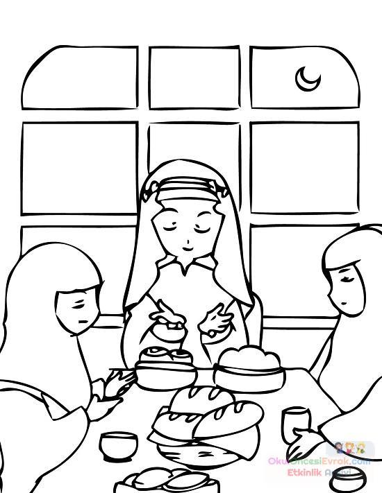 Dini Eğitim 82 Preschool Activity