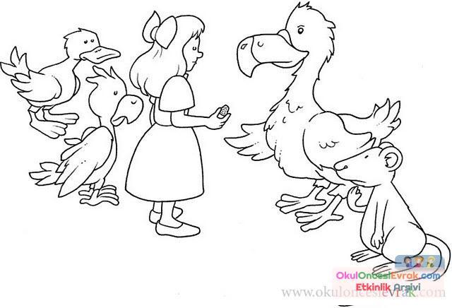 Alice Harikalar Diyarı (8)