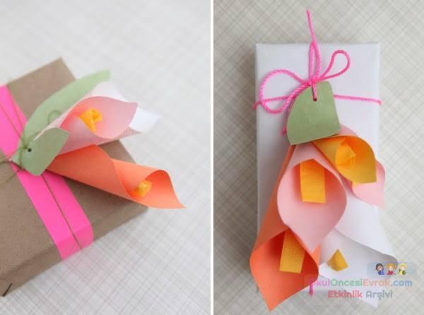 Смотреть как сделать маме подарок из бумаги