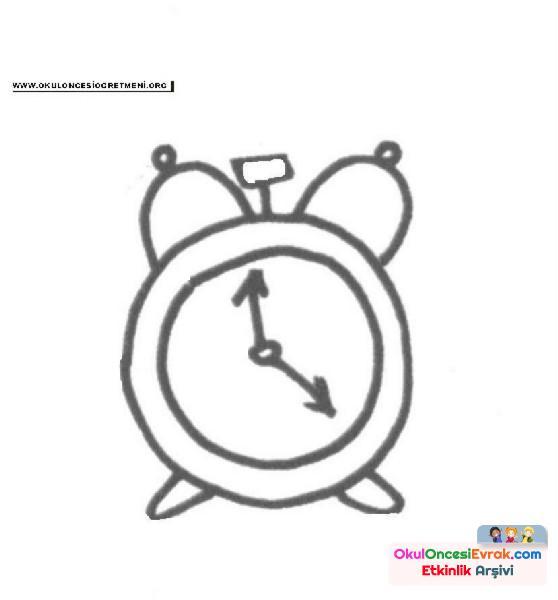 Çalar saat Boyama  (2)