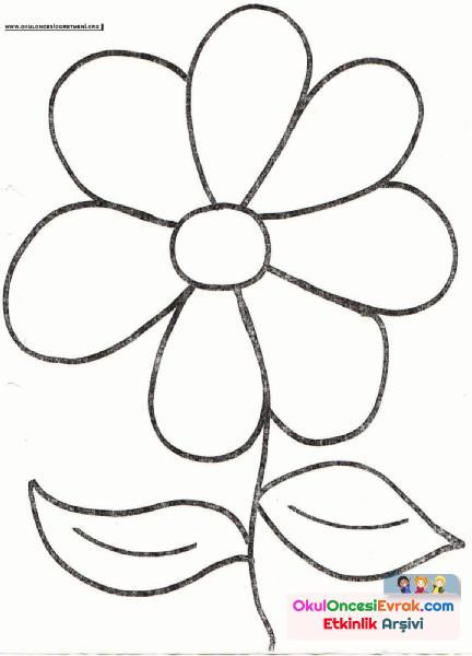 Çiçek Boyama  (3)