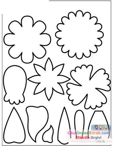 Çiçek Kalıpları (17)