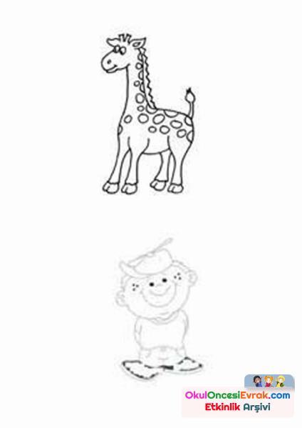 çocuk zürafa