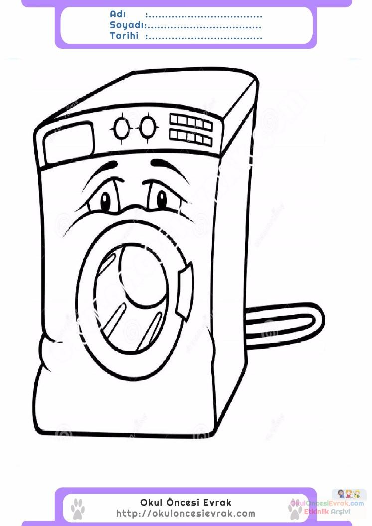 çamaşır Makinesi Temizlemek Için Resimlere Göre Ara Red
