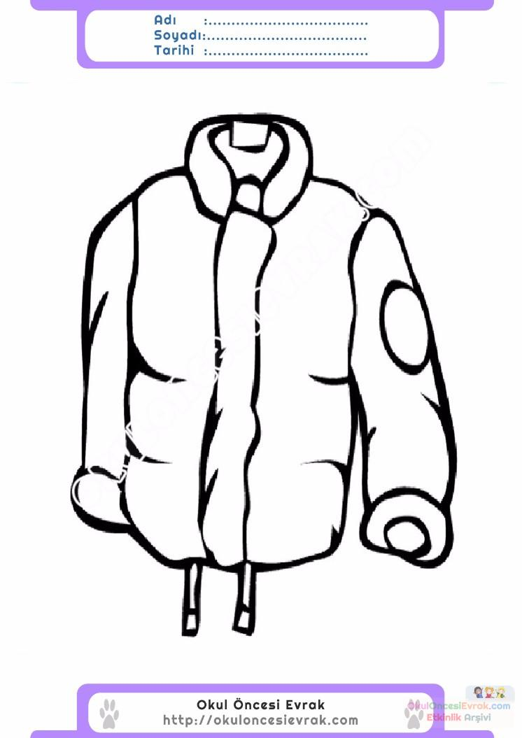Black and White Jacket Image  Clip Art  Backgrounds