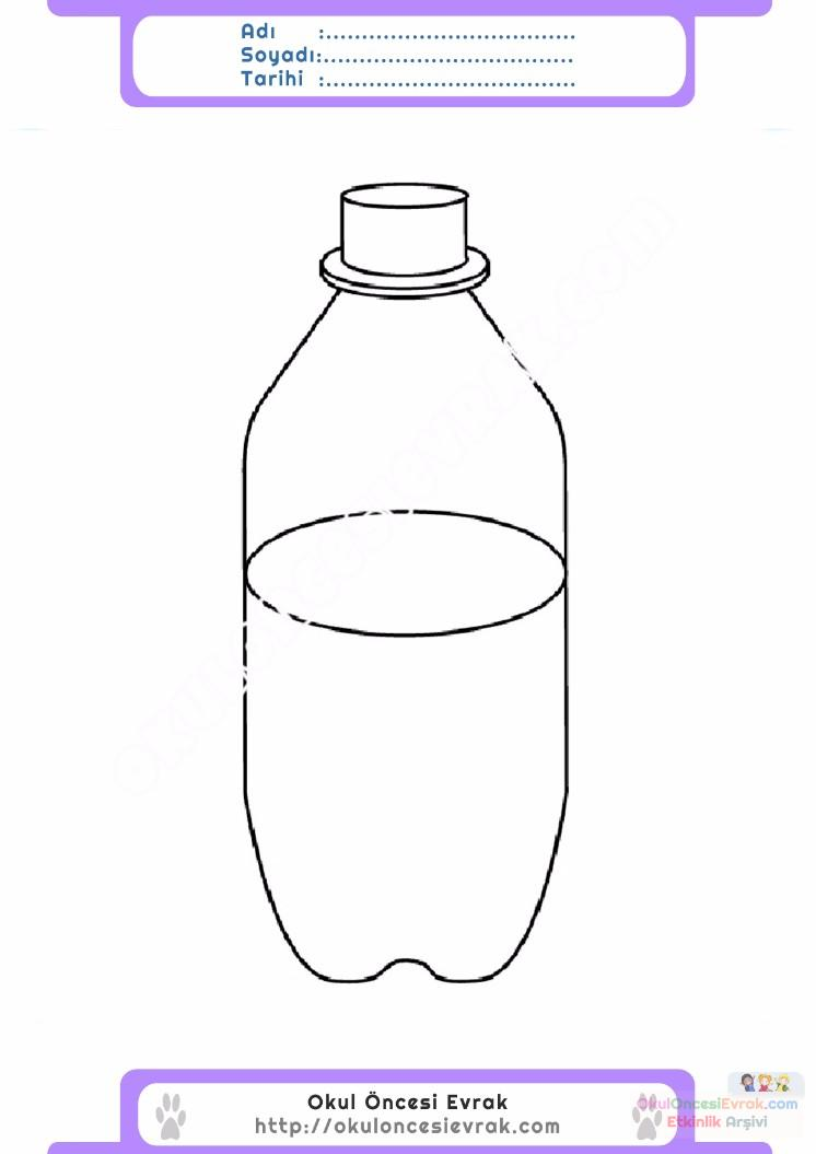 Water bottle coloring page water bottle coloring page clipart panda - Water Bottle Coloring Page