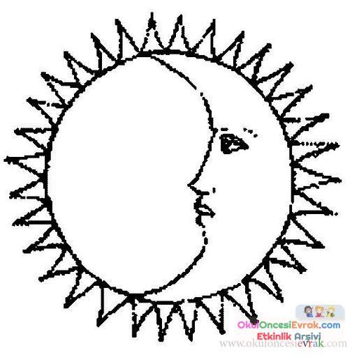 Güneş, ay, yıldız, dünya (36)