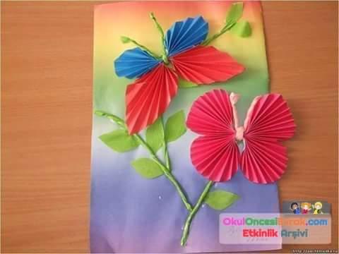 Поделки из цветной бумаги для конкурса