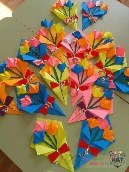 Подарки на 8 марта  в детском саду из дисков