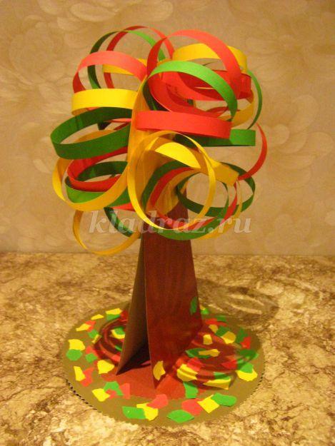 Как сделать из цветного картона дерево - Avangard22.ru