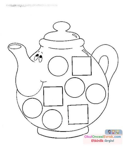 Şekiller Çaydanlık