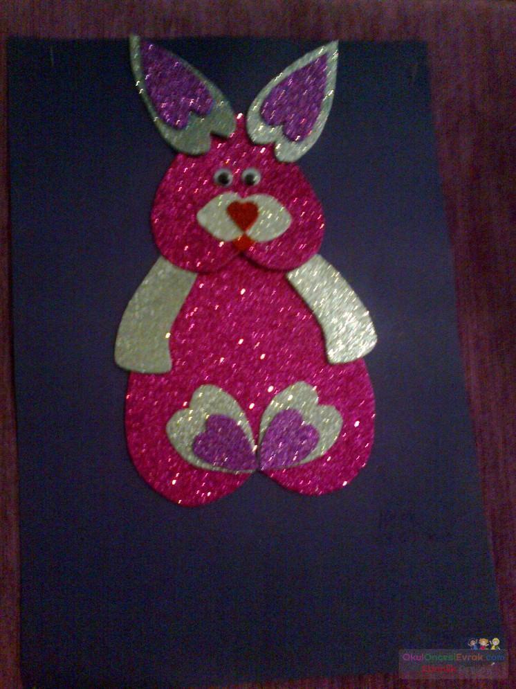 Tavşan (simli eva)