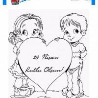 23 Nisan Belirli Gün Ve Haftalar Boyama Sayfası 8 Preschool Activity