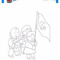 29 Ekim Belirli Gün Ve Haftalar Boyama Sayfası 2 Preschool Activity