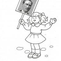 Ataturk Ve Cocuk Boyama Bahattinteymuriom