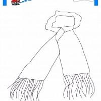 çocuklar Için Atkı Kıyafet Giysi Boyama Sayfası 7 Preschool Activity