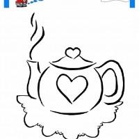 çocuklar Için çaydanlık Eşyalar Boyama Sayfası 16 Preschool Activity
