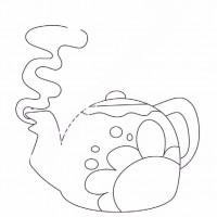 çocuklar Için çaydanlık Eşyalar Boyama Sayfası 9 Preschool Activity