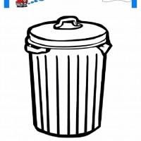 çocuklar Için çöp Kutusu Eşyalar Boyama Sayfası 6 Preschool Activity
