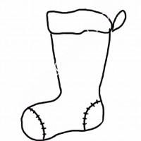 Cocuklar Icin Corap Kiyafet Giysi Boyama Sayfasi 5 Preschool