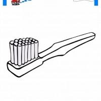 çocuklar Için Diş Fırçası Eşyalar Boyama Sayfası 9 Preschool Activity