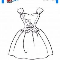 çocuklar Için Elbise Kıyafet Giysi Boyama Sayfası 15 Preschool