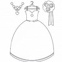 çocuklar Için Elbise Kıyafet Giysi Boyama Sayfası 16 Preschool