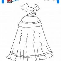 çocuklar Için Elbise Kıyafet Giysi Boyama Sayfası 8 Preschool Activity