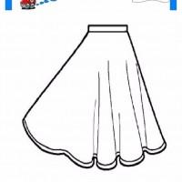 çocuklar Için Etek Kıyafet Giysi Boyama Sayfası 15 Preschool Activity