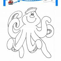 Cocuklar Icin Hayvan Ahtapot Boyama Sayfasi 23 Preschool Activity