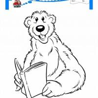 çocuklar Için Hayvan Ayı Boyama Sayfası 2 Preschool Activity