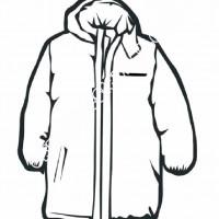 çocuklar Için Kaban Mont Kıyafet Giysi Boyama Sayfası 15 Preschool