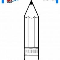 çocuklar Için Kalem Eşyalar Boyama Sayfası 19 1 Preschool Activity