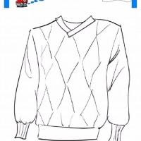 çocuklar Için Kazak Kıyafet Giysi Boyama Sayfası 16 Preschool Activity