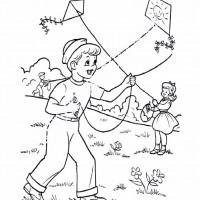çocuklar Için Mevsimler Ilkbahar Mevsimi Boyama Sayfası 30