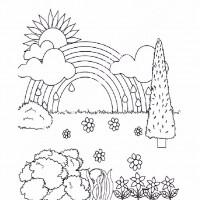 çocuklar Için Mevsimler Ilkbahar Mevsimi Boyama Sayfası 38
