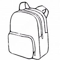 çocuklar Için Okul çantası Eşyalar Boyama Sayfası 5 Preschool Activity
