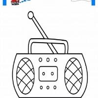 Okul öncesi Radyo Boyama Gazetesujin