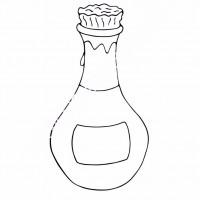 çocuklar Için şişe Eşyalar Boyama Sayfası 10 Preschool Activity
