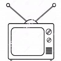 çocuklar Için Tv Eşyalar Boyama Sayfası 6 Preschool Activity