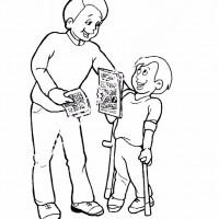 Engelliler Haftası Belirli Gün Ve Haftalar Boyama Sayfası 13