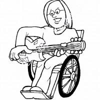 Engelliler Haftası Belirli Gün Ve Haftalar Boyama Sayfası 9